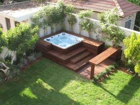 Amplasarea unui jacuzzi la exterior sau interior hidrostyle for Jacuzzi piscina exterior